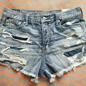 American Eagle Vintage Hi-Rise Shorts